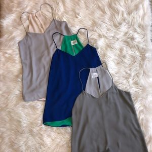 Lot of 3 Express Reversible Tanks